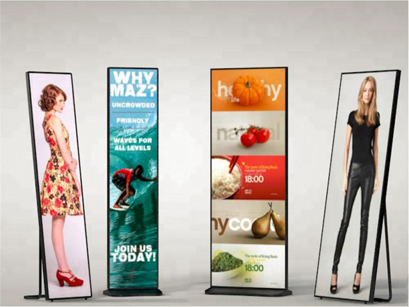 Promotional video stalls